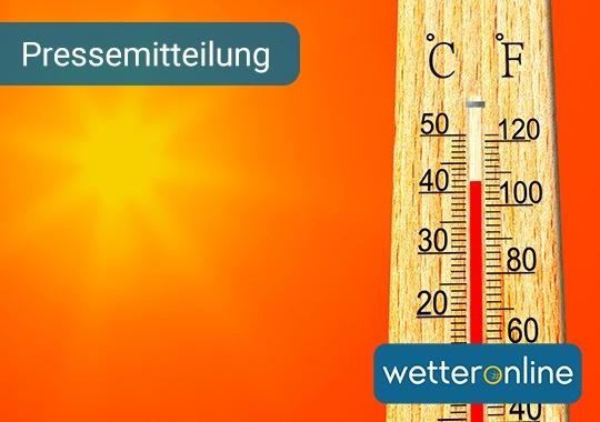 42 Grad – in Lingen wurde eine historische Rekordtemperatur gemessen. Bildnachweis: WetterOnline